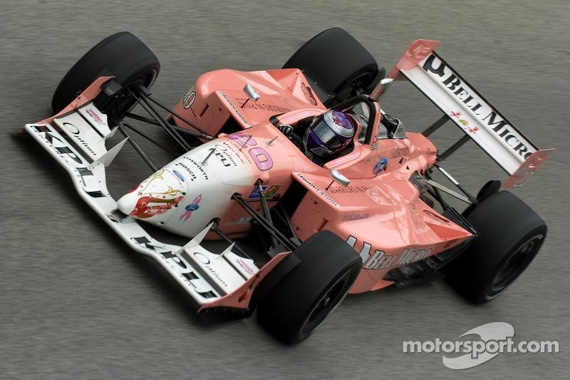 Katherine Legge fuhr schon in der ChampCar-Saison 2006 in Pink und ...