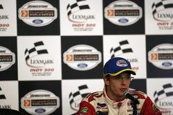 Sébastien Bourdais at the post race press conference