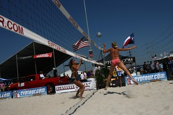 Beach volley area