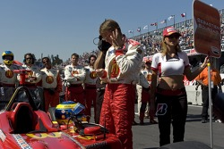 Sébastien Bourdais gets ready for his last Champ Car race