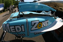 Bodywork of Graham Rahal's car
