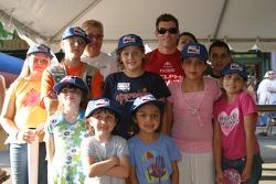 Fans with Scott Sharp