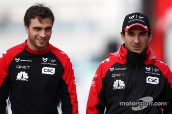 Jerome d'Ambrosio, Marussia Virgin Racing, Timo Glock, Marussia Virgin Racing