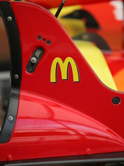 Detail of the Newman/Haas/Lanigan Racing car of Sébastien Bourdais