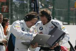 BMW Motorsport team members