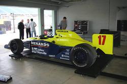Rahal Letterman Racing Panoz G Force-Honda
