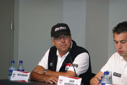 Marlboro Team Penske press conference: Rick Mears