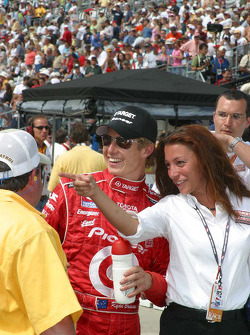 Ryan Briscoe after the race