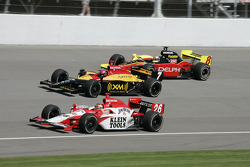 Dan Wheldon, Bryan Herta et Scott Sharp