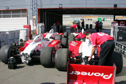 Ganassi Racing garage area
