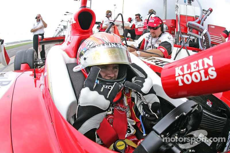 Dan Wheldon At Nashville