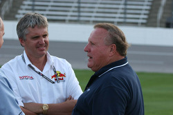 Eddie Cheever and A.J. Foyt