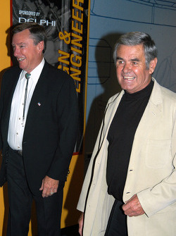 Johnny Rutherford and Al Unser, Sr.