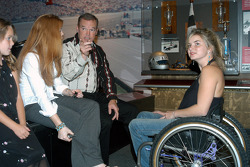 Shannon and Cody Unser visit with father Al Jr.
