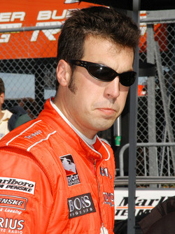 Sam Hornish Jr. wasn't as happy