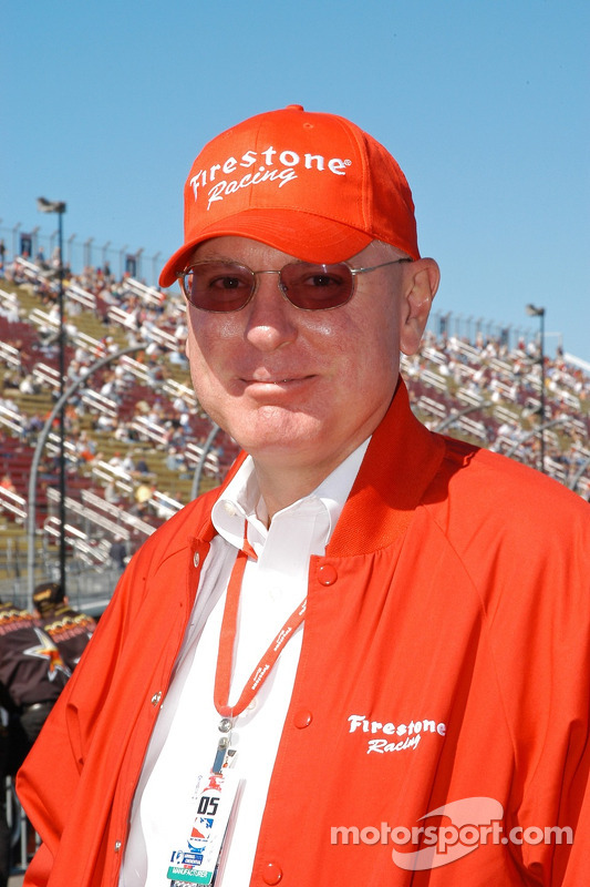 Al Speyer was pleased with the Firestone tires performance
