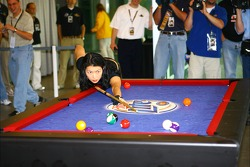 Billiards star Jeanette Lee