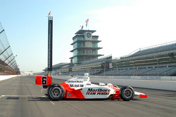 The 2006 Indy 500 winning car