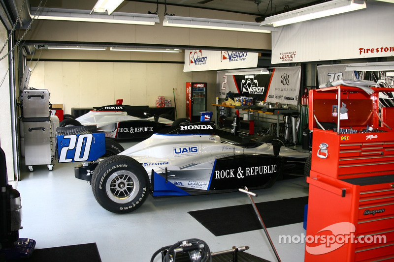 Le garage de Vision Racing