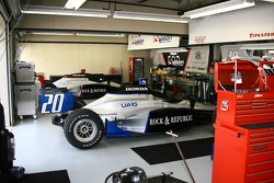 Vision Racing garage area