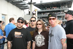 Members of the band 'Staind'