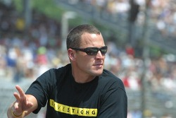 Lance Armstrong, pace car driver