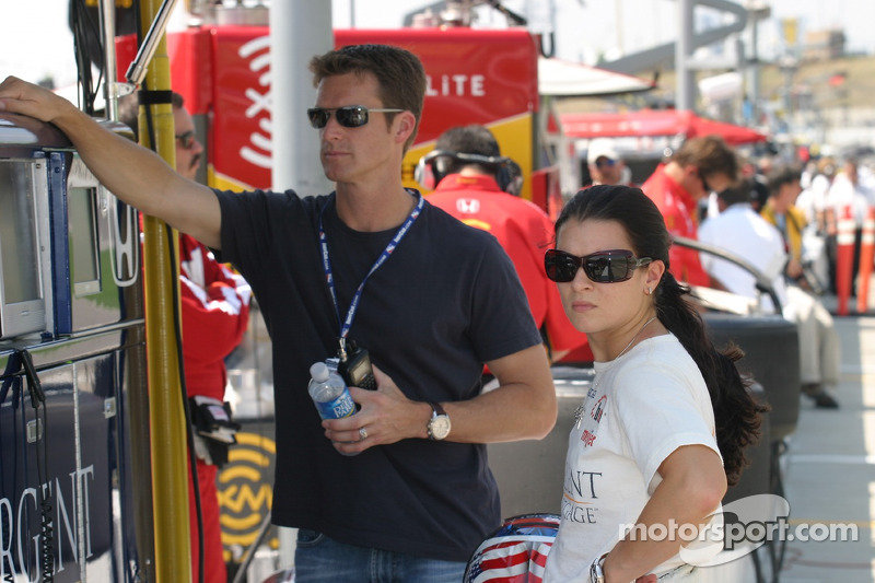 Danica Patrick avec son mari Paul Hospenthal