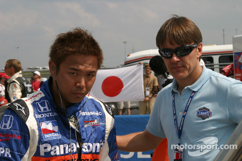 Kosuke Matsuura y Adrián Fernández