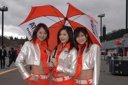 Lovely umbrella girls