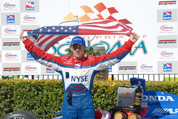 Race winner Marco Andretti