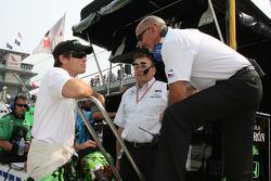 Scott Sharp and Bobby Rahal