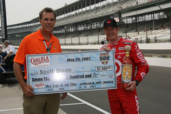 Scott Dixon wins the Hot Lap of the Day Award