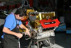 Honda Indy V8 powerplant