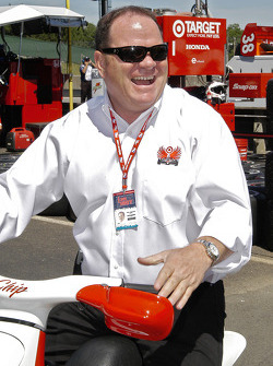 Did Chip Ganassi know how good a day it would be