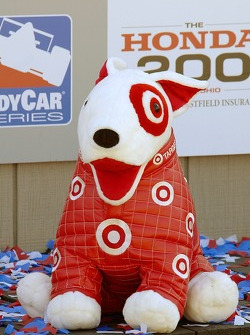 Even the Target dog is happy