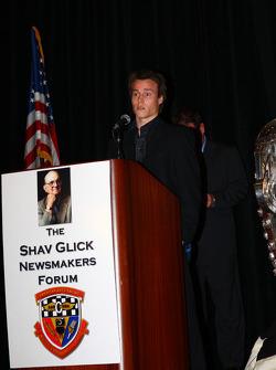 2007 Indy Pro Series champion and Freedom 100 winner Alex Lloyd
