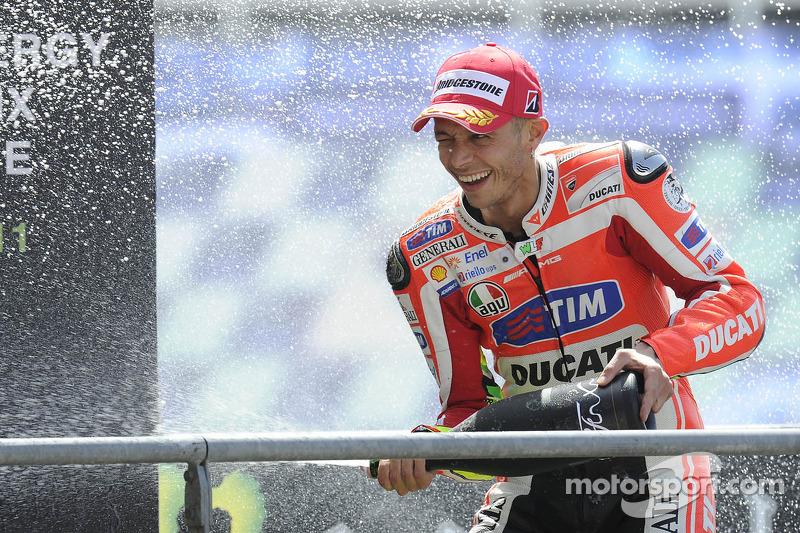 Le Mans 2011 - Único podio en su primera temporada en Ducati