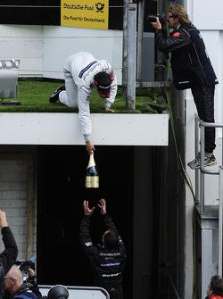 Podium: Bruno Spengler, Team HWA AMG Mercedes, AMG Mercedes C-Klasse