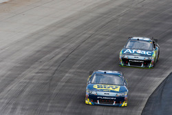 A.J. Allmendinger, Richard Petty Motorsports Ford and Carl Edwards, Roush Fenway Racing Ford