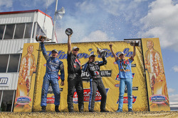 Pro Winners celebrate on the podium at the Southern Nationals
