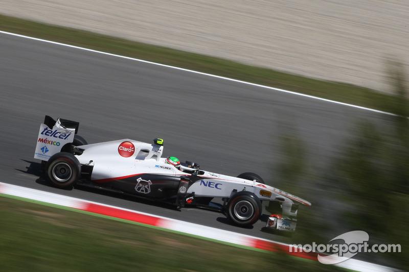 Primeros puntos, GP de España 2011