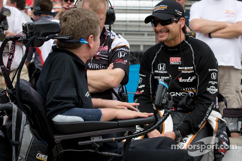 Alex Tagliani, Sam Schmidt Motorsports with team owner Sam Schmidt