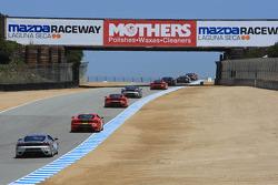Ferrari Challenge race action