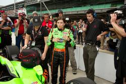 Danica Patrick, Andretti Autosport tras correr la última calificación