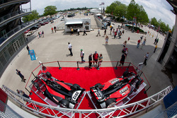 The 2012 IndyCar Series cars