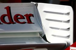 Scuderia Ferrari Technical detail rear wing