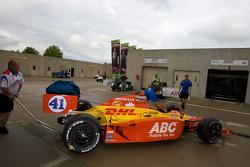 Car of Ryan Hunter-Reay, A.J. Foyt Enterprises