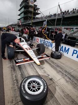 Team Penske car of Will Power