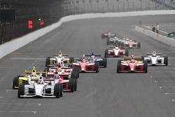 Josef Newgarden, Sam Schmidt Motorsports leads