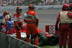 Jay Howard, Sam Schmidt-RLL Racing crashes